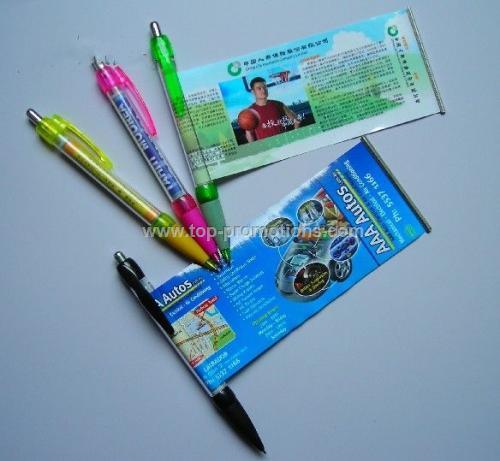 banner pen/flag pen