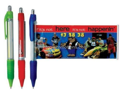 Advertising Banner Pens / Ball Pen with a Retracta