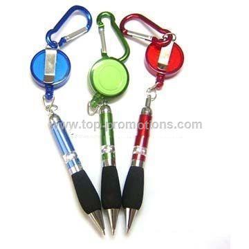 Carabineer Ballpoint Pen