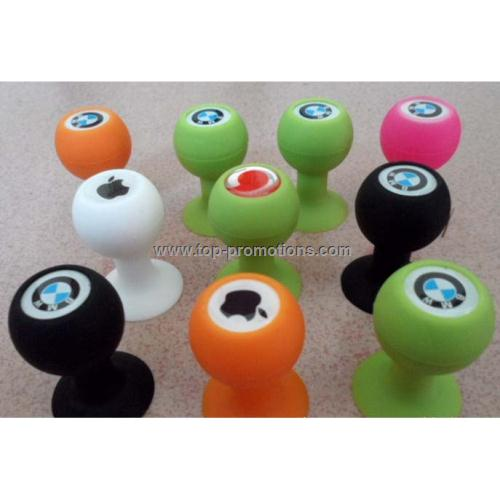 Silicone mobile phone stand for iphone 4