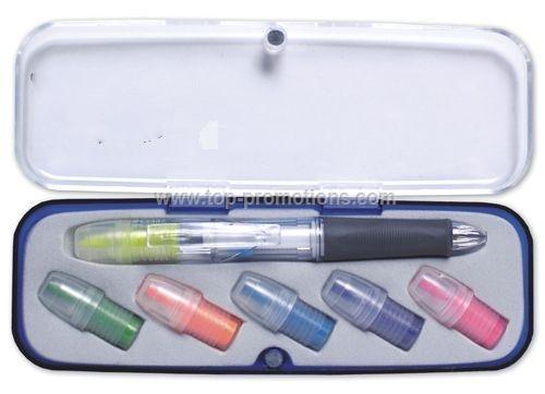 Pen Highlighter Set