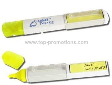 Highlighter With Note Flags