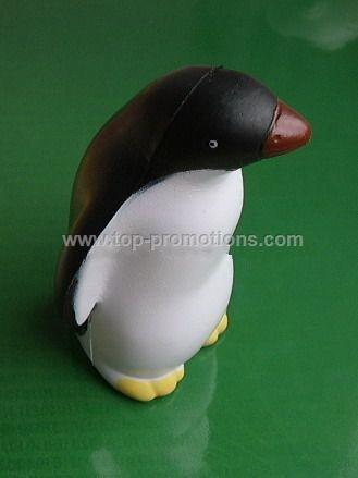 PU Penguin stress ball