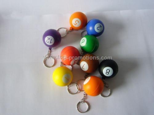 billiards stress ball