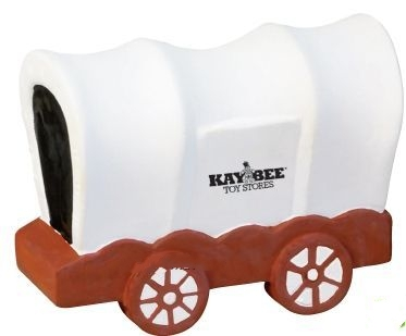 Covered Wagon Squeeze Toy