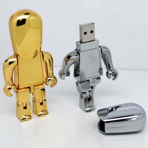 Metal Robot USB Stick