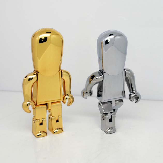 Robot Metal Flash Memory Drive