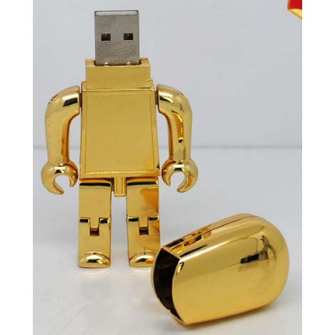 Golden Robot usb drives