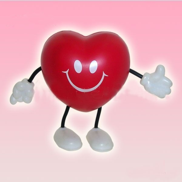 Heart Man stress ball