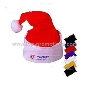 Red felt Santa hat