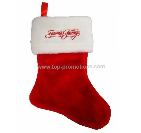 Fleece Christmas stocking