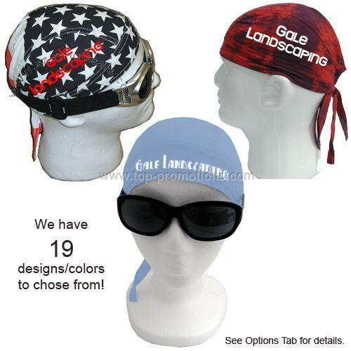 HAV-A-DANNA HEAD WRAPS -- Premium with heat transf