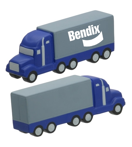 Semi Truck Stress Ball