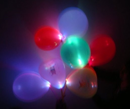 led balloon,led flashing balloon,led balloon light