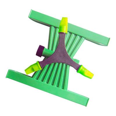 Adjustable 3-arm sprinkler