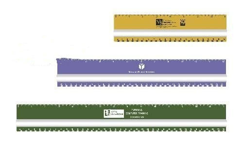 Magnifying ruler - 8 inch