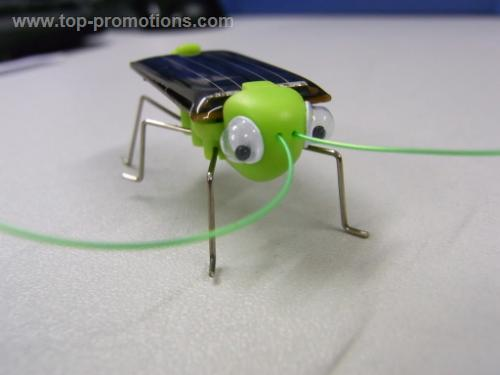 Solar Powered Insect Bug Grasshopper gadget funny