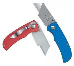 Blue Razor Locking Knife