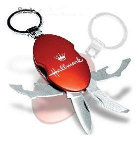Keychain functional knife