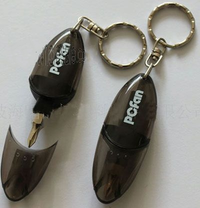 Mini Screwdriver Keychain