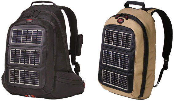 solar backpack
