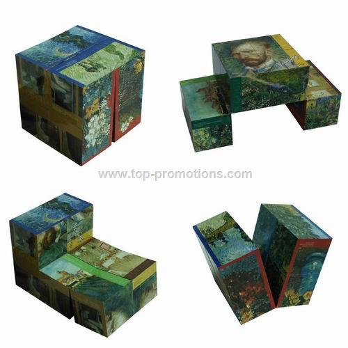 Foldable Magic Cube