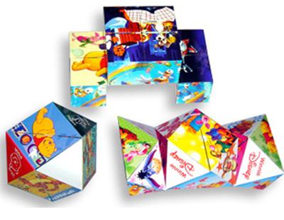 Diamond Foldable Magic Cube