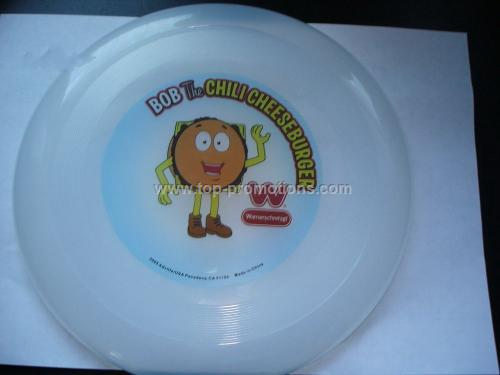 Transparent Color Frisbee