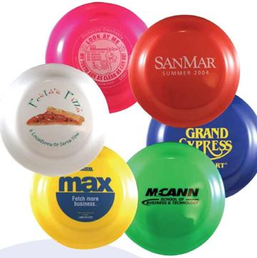 9 is  Frisbees- personalized