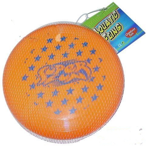Plastic frisbee 9 is  dia