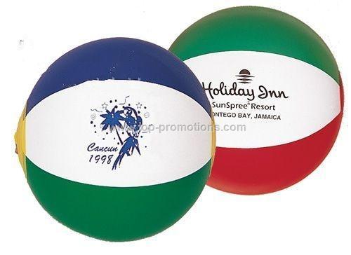 6 is  Multicolor Beach Balls