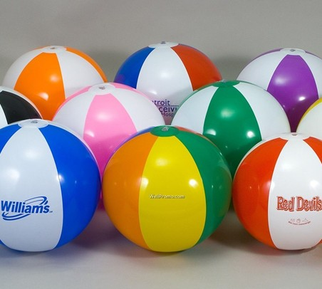 16 is  Multi-color Beach Ball