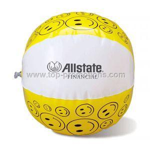 10 inch Smiley Face Beach Ball