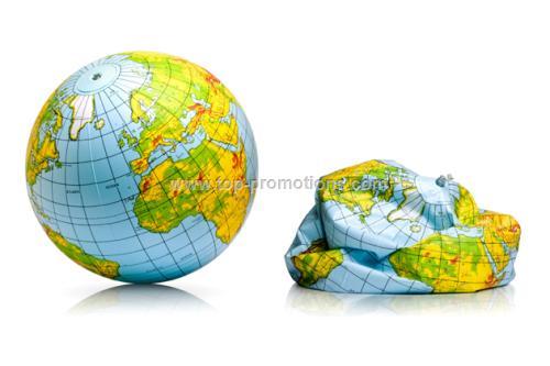 Inflatable Globe Beach Ball