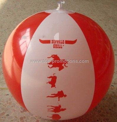 16 is standard beach ball