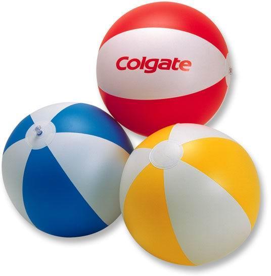Inflatable beach ball 12 inch