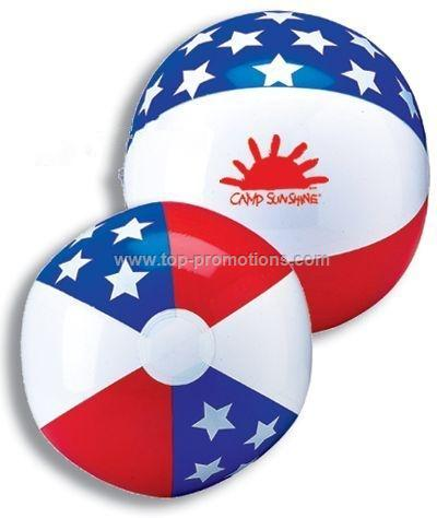 16 inch Stars / Stripes Beach Ball