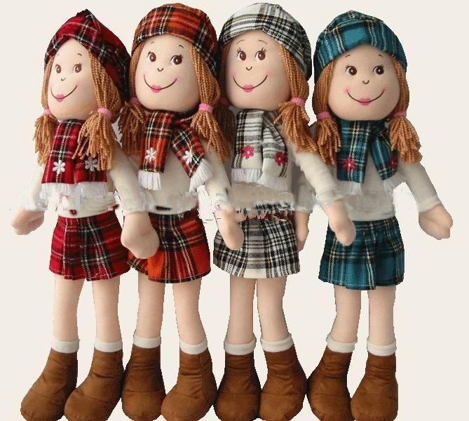 Lovely stuffed plush doll