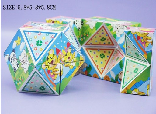 classic foldable magic cube for advertising and pr