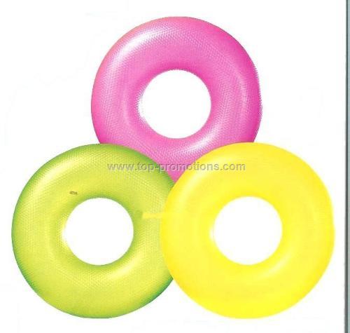 30 Swim Rings Crystal Clear Tube