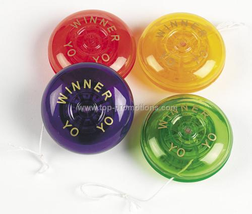 Assorted Plastic Yo-yos