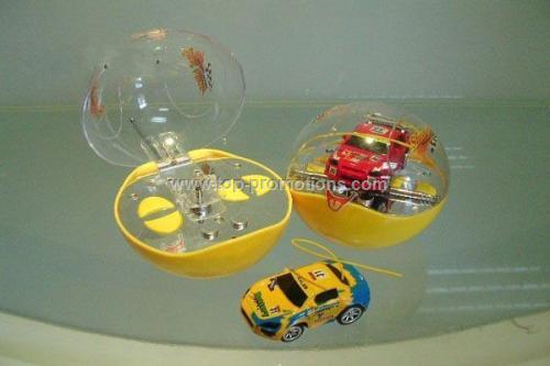 Mini r c ball car
