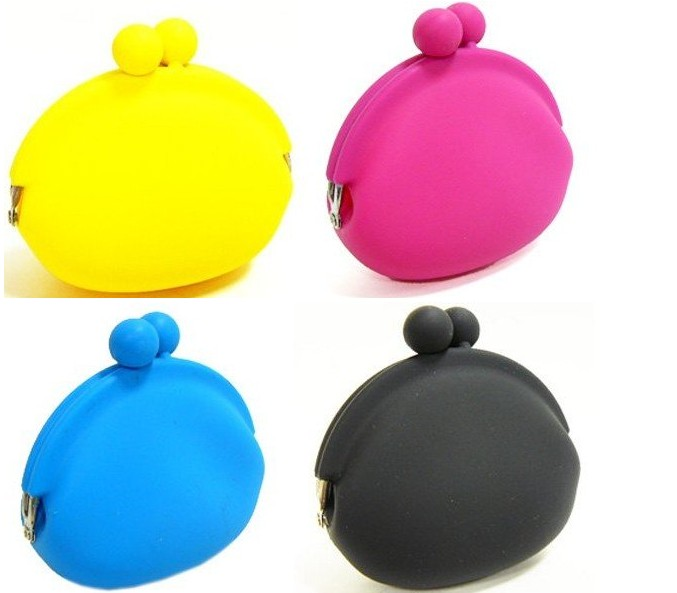 Free shipping silicon key bag/key holder/key pouch