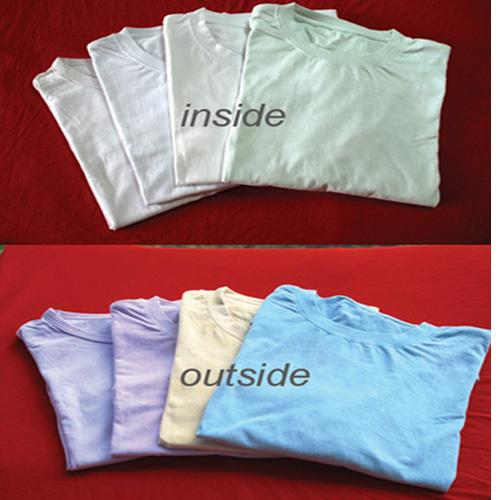 UV Sensitve Color Changing T-Shirt