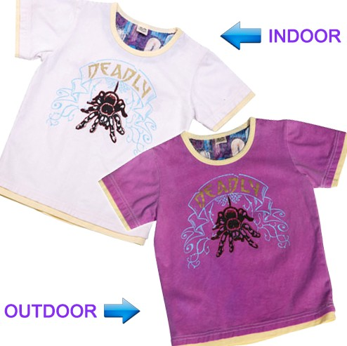 UV Color Change Boy T-Shirt