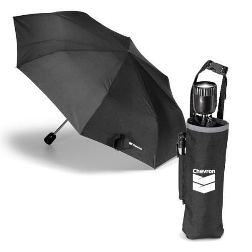Rain or shine umbrella kit
