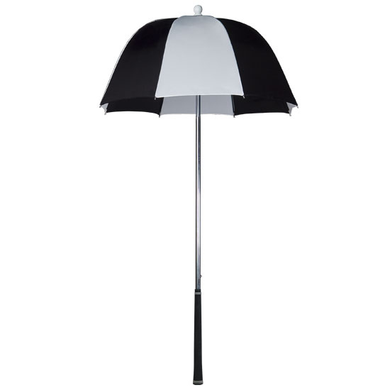 Golf Bag Umbrella (Black and White)