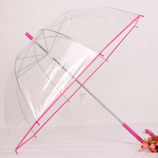 Apollo Umbrella With Pink Border