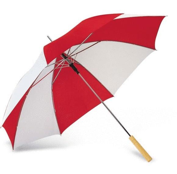 Bi-colour umbrella