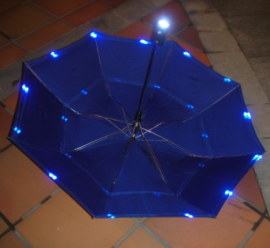 Folding LED Umbrella